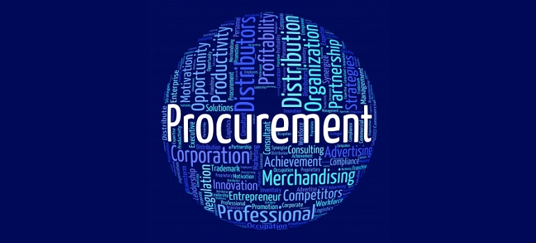 Procurement word means procures attainment and procurements by Stuart Miles courtesy of FreeDigitalPhotos