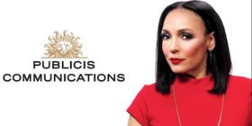 Publicis Communications logo and Odette van der Haar