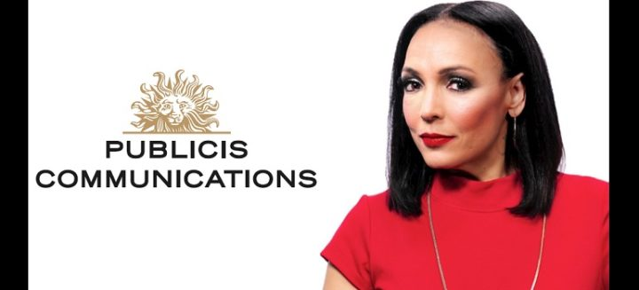 Publicis Communications logo and Odette van der Haar