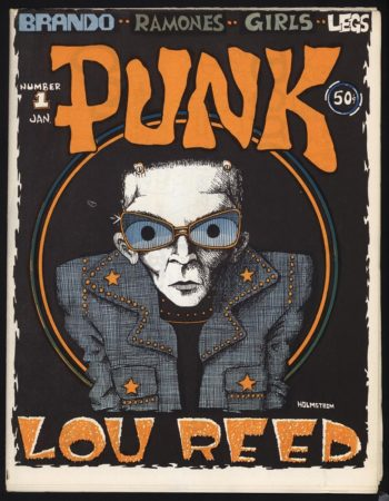 Punk, issue 1, January 1976