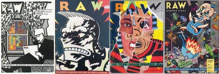 RAW 1, 3, 6 and 8, 1980–1991