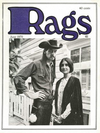 Rags, issue 1, June 1970
