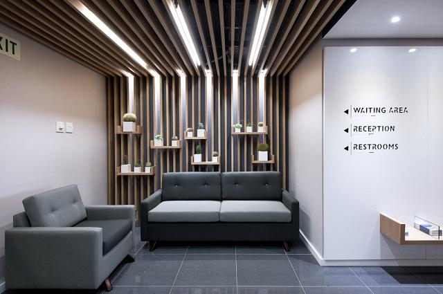 Regent waiting room