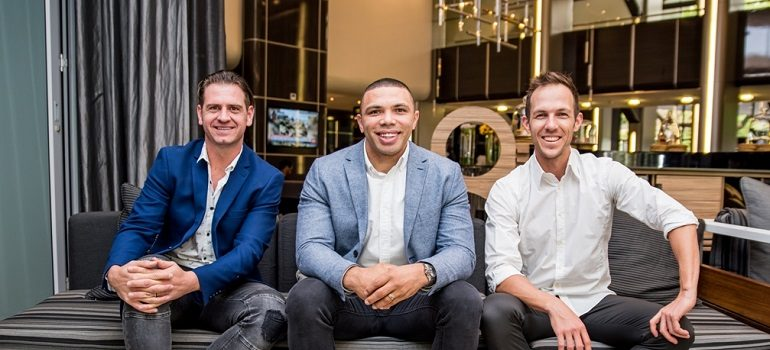 Retroactive L-R: Mike Sharman, Bryan Habana, Ben Karpinski