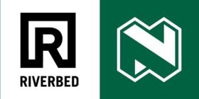 Riverbed logo and Nedbank logo