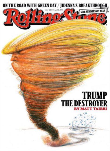 Rolling Stone, 6 April 2017: Donald Trump