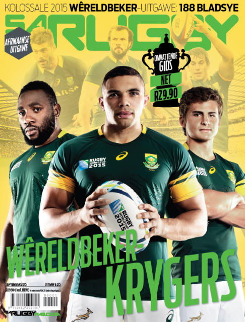 SA Rugby, September 2015: Afrikaans