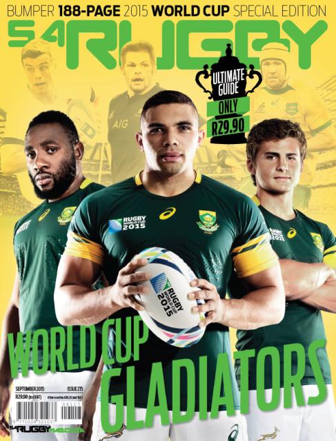 SA Rugby, September 2015: English