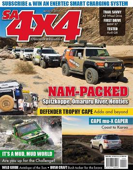 SA4x4 Magazine, August 2019