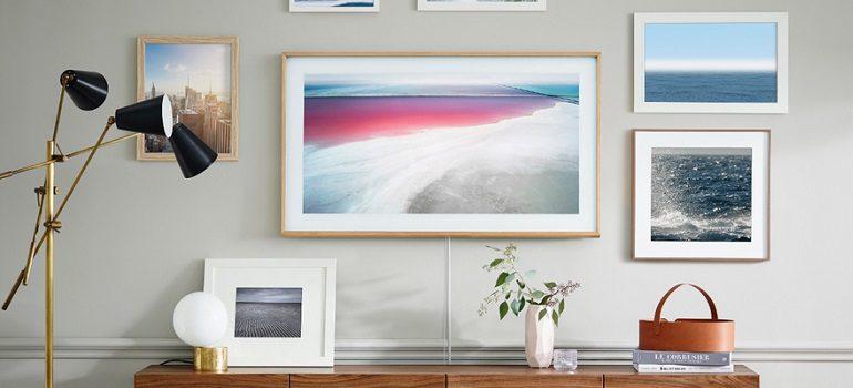 Samsung The Frame TV slider