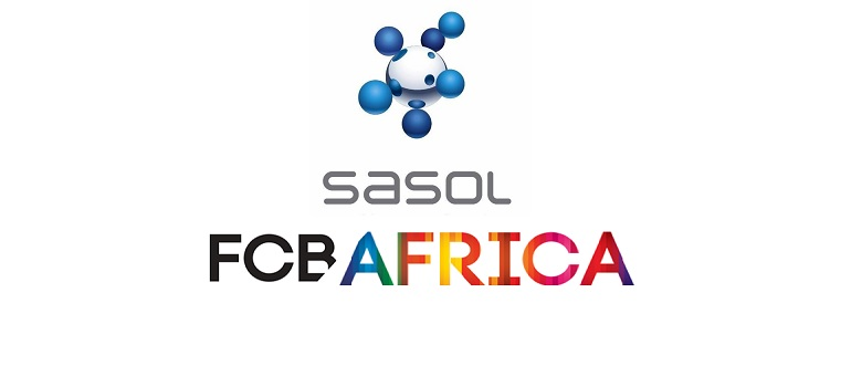 Sasol logo and FCB Africa logo