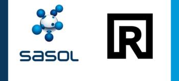 Sasol logo and Riverbed logo