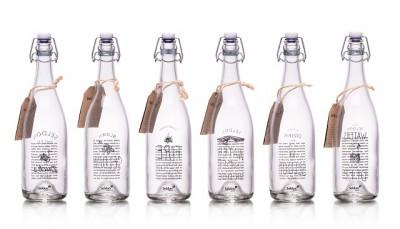 Seldon Water glass bottles 2