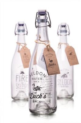 Seldon Water glass bottles 3