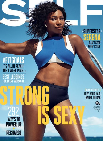 Self, September 2016: Serena Williams