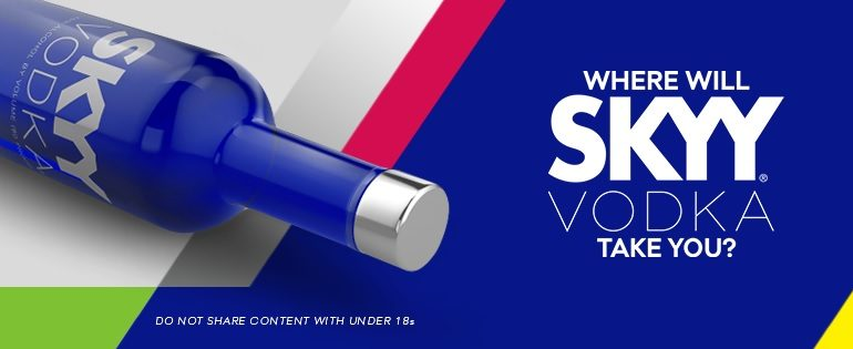 Skyy Vodka South Africa Facebook cover image