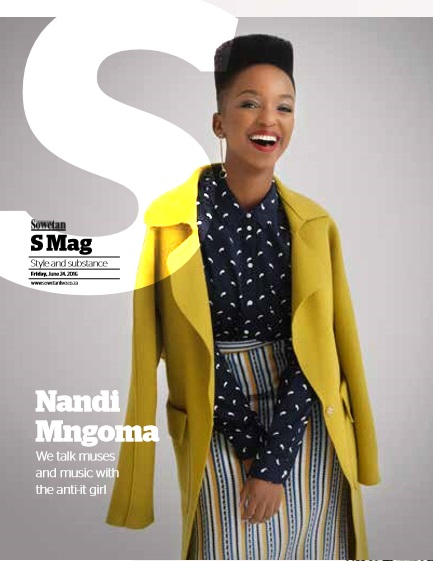 Sowetan S Mag, 24 June 2016: launch cover