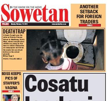 Sowetan, 16 February 2015