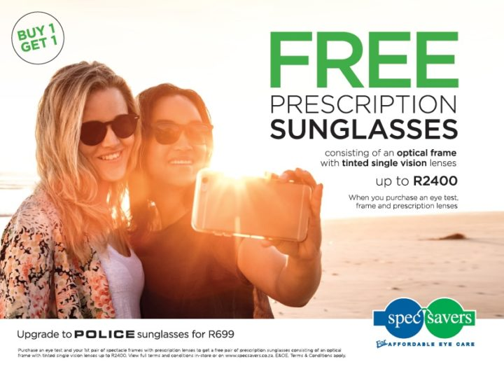 Spec-Savers South Africa summer promo by Watson Ferguson