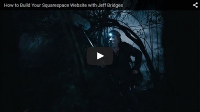 Squarespace Jeff Bridges