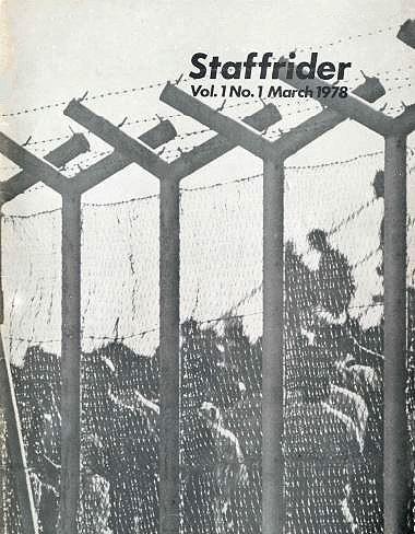 Staffrider, volume 1 no 1, March 1978