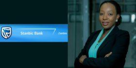 Stanbic Bank Zambia logo and Chenge Besa-Mwenechanya