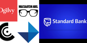 Standard Bank logo and new agency logos