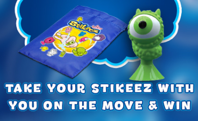 Stikeez on the Move competition