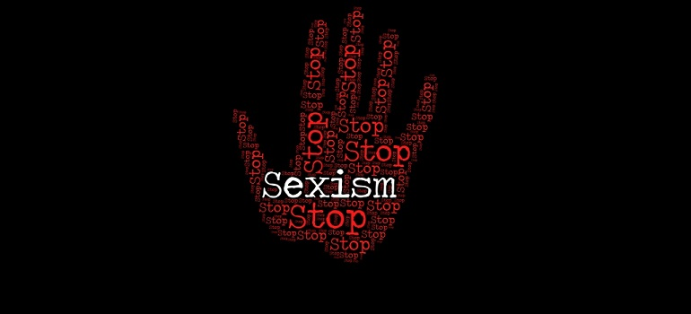 Stop Sexism Shows Sexual Discrimination and Caution by Stuart Miles courtesy of FreeDigitalPhotos.net amended for slider