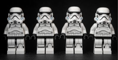 Stormtrooper Star Wars Lego storm courtesy of Pixabay