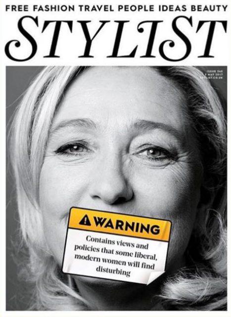 Stylist UK, 3 May 2017 - Marine Le Pen