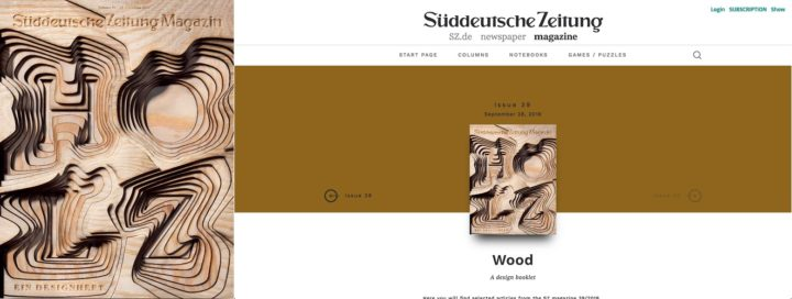 Sueddeutsche-Zeitung, print and online, issue 39, 28 September 2018