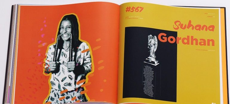 Suhana Gordhan DPS within Creative Director book slider