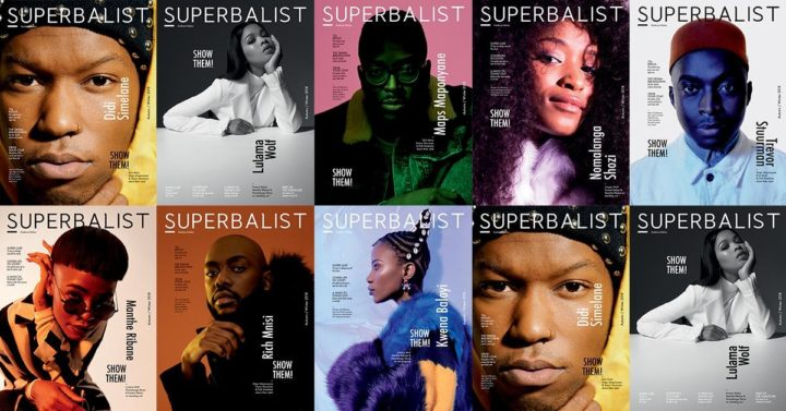 Superbalist, all covers, Autumn/Winter 2018