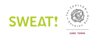Sweat! logo and The Jupiter Drawing Room Cape Town logo
