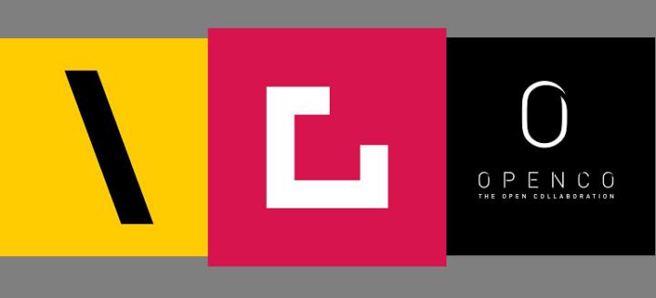 TBWA logo, Grid Worldwide logo and Openco logo