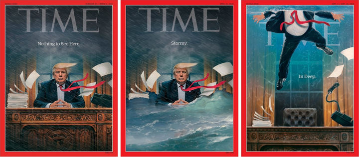 TIME, 2017-2018: Donald Trump - Stormy