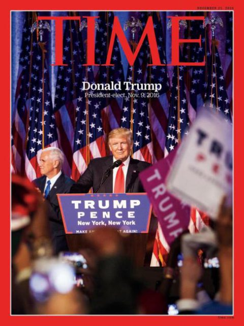 TIME, 21 November 2016: Donald Trump