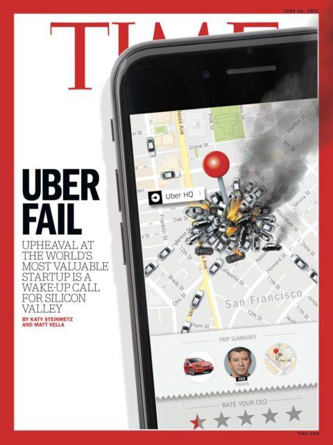 TIME, 26 June 2017 - Travis Kalanick