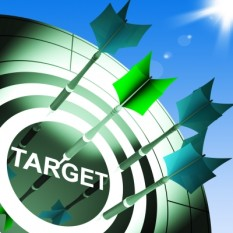 Target on Dartboard Showing Successful Shooting by Stuart Miles at FreeDigitalPhotos.net