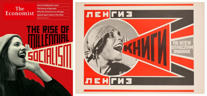 The Economist, 16-22 February 2019 and Alexandre Rodchenko, More Books 1924