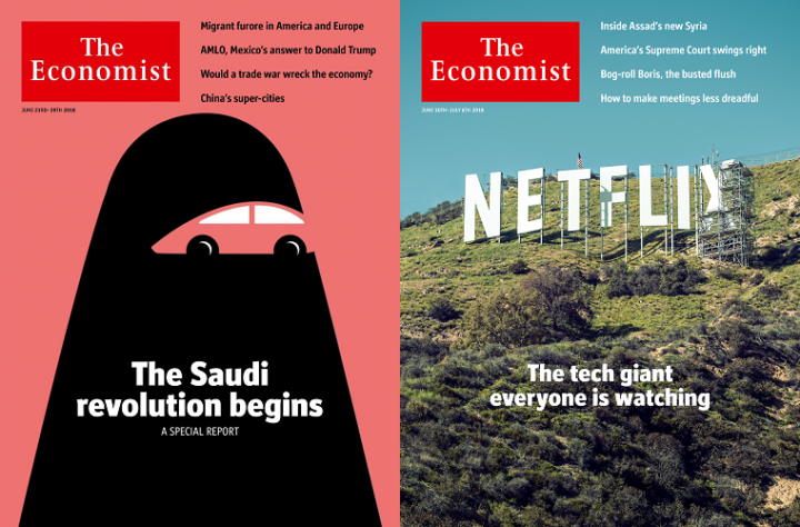 The Economist, 23-29 June 2018 and 30 June-6 July 2018