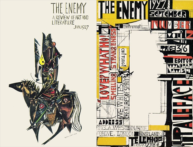 The Enemy, issue 1, Jan 1927 and issue 2, Sep 1927