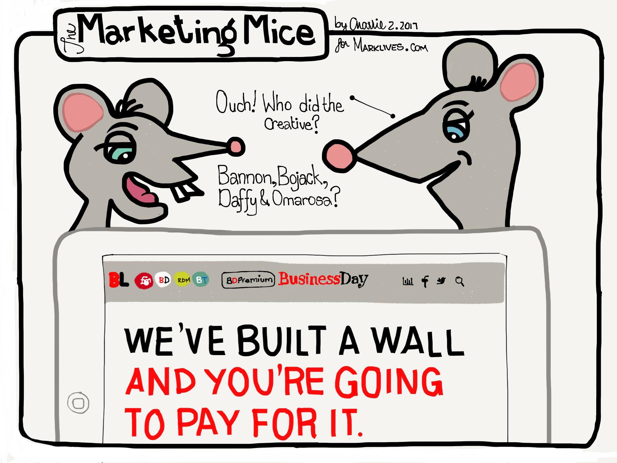 The Marketing Mice 2017 02 20