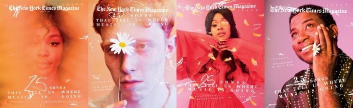 The New York Times Magazine, March 2018 - collage of four covers