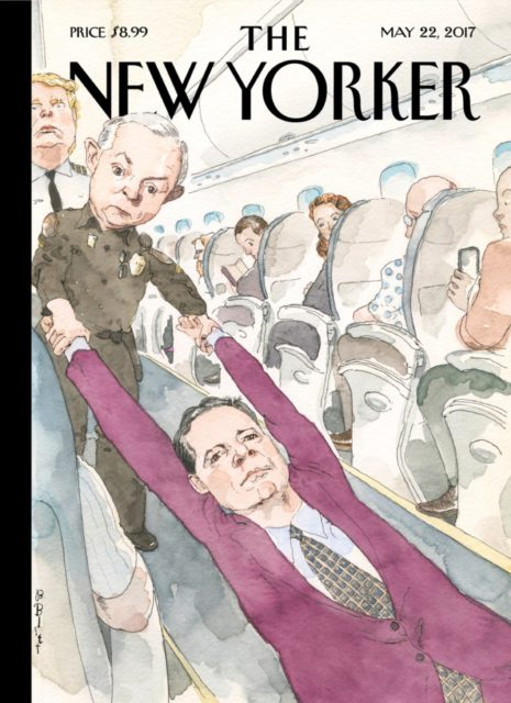 The New Yorker, 22 May 2017 - James Comey, Jeff Sessions, Donald Trump