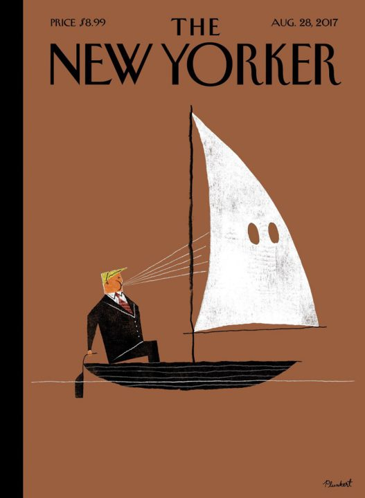 The New Yorker, 28 August 2017 - Donald Trump