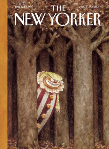 The New Yorker, 30 October 2017 - Donald Trump