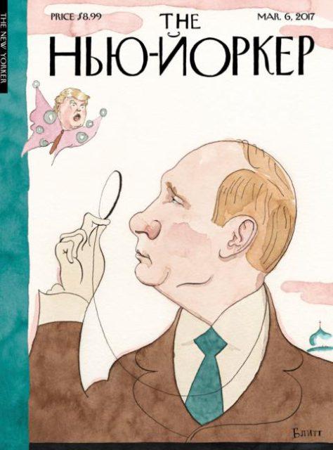 The New Yorker, 6 March 2017: Vladimir Putin and Donald Trump