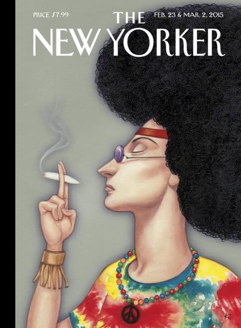 The New Yorker, 23 February 2015: Anita Kunz